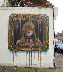 Irony (BE'N 59. Street photographer) Tags: irony streetart streetartlondres londonstreetart londres london