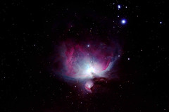 M42 Orion Nebula (Ggreybeard) Tags: skywatcher orion nebula m43 m42 ngc1976 lbn974 esprit iotaorionis struve747 astrometrydotnet:id=nova2346708 astrometrydotnet:status=solved