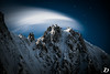 Cold Dream ©DeschampsDamien (deschdam6@gmail.com) Tags: landscape chamonixmontblanc alps night photography longexposure time sky blue moon stars light clouds cirrus cold magic earth scenery nuit etoile lune mountains montagnes montagne adventure explore vision art artwork color france