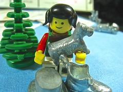 the scotty dog was scott's favorite (muffett68 ☺ heidi ☺) Tags: macromondays gamesorgamepieces lego camper minifigure monopoly metal pieces macro closeup toys legos