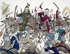 Mongol vanguard repulsed by Tangut (The Jackmeister) Tags: chinggis khan genghis dschingis war medieval warfare china asia jackmeister youtube battle chinese mongolian mongol empire conquests invasions history historical sulde lamellar vanguard tangut xi xia hsi hsia xixia jin jurchen sung dynasty