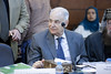 Dr Hussein Gezairy, Regional Director Emeritus WHO/EMRO, participating in the Fourth Annual IAG Meeting at Mashyakhet Al Azhar Al Sharif on 22 November 2017. (IAG for Polio Eradication) Tags: iag islamic advisory group al azhar polio