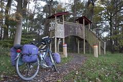 Bikepacking microadventure Bad Bentheim (Kitty Terwolbeck) Tags: microadventure cycling bikepacking biketrekking fietstrektocht outdoors outdoor nature landscape camping border bordercrossing lutterzand netherlands germany