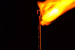 MM Matchstick at the moment of inflammation (petermüller21) Tags: macromondays stick