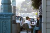 Three-Hour Parking (AntyDiluvian) Tags: sanfrancisco california sausalito cafe sidewalkcafe threehourparking