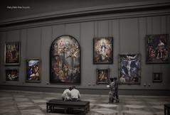 (765/17) El Louvre (Pablo Arias) Tags: pabloarias photoshop photomatix capturenxd pintura museo obrasdearte elgreco cuadros ellouvre paris francia personas gente