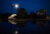 Mail des Chantiers (matthias.rigou) Tags: nuit night reflet nantes iledenantes machinesdelîle grues architecture