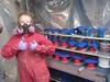 Hydrobot Last Round of Blue Parts (thorssoli) Tags: schick hydrobot schickhydro robot costume prop