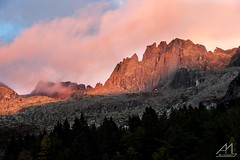 Tredenus (Andrea Moraschetti Photography) Tags: ngc sunset red tp top peak peaks mount mountais landscape trees view mountain parco adamello park alps alpine place italy italian places evening trekking hiking colors colorful nature natura visitbrescia vallecamonica lombardia summit clouds sky best
