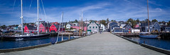 Lunenburg, Halifax Nova Scotia (Kev Walker ¦ 7 Million Views..Thank You) Tags: bluenose boats building canada canon1855mm canon700d clouds colonialsettlement colorfull digitalart fairhavenpeninsula hdr historic lunenburg novascotia panorama panoramic picturesque postprocessing ship town water waterfront worldheritagesite