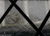 Rain (M C Smith) Tags: pentax k7 window frame lines abstract rain water windows cross crosses