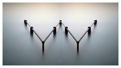 W (picturedevon.co.uk) Tags: plymouthhoe devon uk fineart le longexposure minimal sea water seascape colour blue rusty coast seaside canon coastline calm sunset wwwpicturedevon
