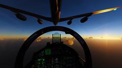Refueling_14 (The_SkyHawk) Tags: world f15 eagle usaf refueling air force dcs digital combat simulator flight flying jets aviation virtual flightsim