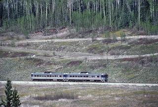 BC Rail RDC Run By -- 9 Photos