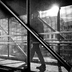 Commuting - Dublin, Ireland - Black and white street photography thumbnail