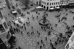Højbro Plads (jehazet) Tags: cityscape stadsgezicht plein square kopenhagen denemarken denmark bw højbroplads amagertorv jehazet