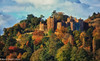 Dunster Castle (martin.baskill) Tags: colorsinourworld motte bailey somerset castle autumn england forest trees wood castlespalacesmanorhousesstatelyhomescottages castles palaces manorhouses statelyhomes cottages