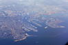 SanPedro LA Harbor (Chenpai) Tags: sanpedro laharbor losangeles socal california aerial shippinglanes longjetty