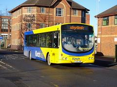 Kinchbus 624 Derby (Guy Arab UF) Tags: kinchbus 624 fj03vwp scania l94ub wright solar bus siddals road derby skylink derbyshire trent barton buses wellgladegroup