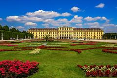 Schloss Schönbrunn, Wien (Roman Achrainer) Tags: schloss schönbrunn wien architektur park blumen rasen gebäude österreich achrainer