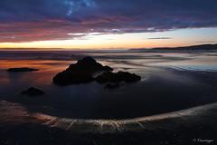 Tidal Flat Sunset (Omnitrigger) Tags: lowtide tidalflat reflection nature earth longexposure
