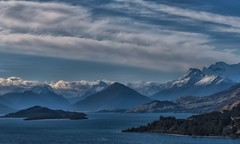 Letters From The Sky (Anna Kwa) Tags: glenorchyqueenstownroad 45km scenicdrive lakewakatipu pigeonisland pigisland southernalps southisland newzealand annakwa nikon d750 afsnikkor24120mmf4ged my promise always moutains sky break fall seeing heart soul throughmylens omm free destiny fate journey life civiltwilight lettersfromthesky