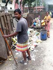 Refuse collectors (gerrypopplestone) Tags: waste refuse garbage rubbish wasteworker