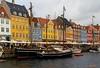 Nyhavn (Greet N.) Tags: nyhavn copenhagen denmark water boats buildings cityscape city sky clouds