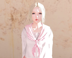 Trying new things (Tiffany Hausner) Tags: song second life blog blogger fashion offbeat little bones catya catwa head
