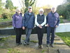 The four parents of the Apocalypse... (Rachel Mundy) Tags: canal berkhamsted lock mum dad jackie ernest newalls family hertfordshire