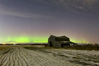 Colours of the Prairie Night
