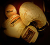 Boxing Gloves (Shane Hebzynski) Tags: boxing gloves vignette sports nostalgic samsung s8