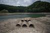 Drought season. (Yasuyuki Oomagari) Tags: 田舎の風景 dam drought pipe nikon d810 佐賀県 ダム