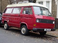 1981 Volkswagen Transporter Camper Van (Neil's classics) Tags: vehicle van camper vw 1981 volkswagen transporter t3 t25 camping motorhome autosleeper motorcaravan rv caravanette kombi mobilehome dormobile