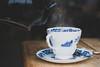 Tea and cake ~ 325/365 2017 (joriks) Tags: 2017 food cardiff wales unitedkingdom gb britain thisisbritain childerninneed bbc children charity tea cake hot smoke vintage hipster blue china sugar delicious delight moody dark