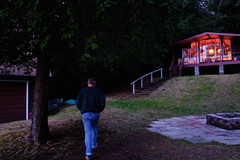 end of a day (cszechy) Tags: lakeofbays muskoka cottage cottagecountry ontario canada huntsville dock summer cabin sunset