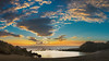Baby Beach (Jörg Bergmann) Tags: islascanarias lagomera puestadesol vallegranrey atardecer beach canarias canaryislands clouds españa gf7 gomera lumix m43 mft panasonic sky spain sun sunset travel vacation stitched babybeach charcodelconde puesta de sol landscape seascape 20mmf17 horizon