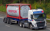 VOLVO FM - DENNIS DIXON Middlesbrough (scotrailm 63A) Tags: lorries trucks tankers
