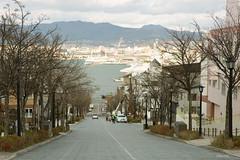 八幡坂 Hachimanzaka Slope (Daniel Wu (Ming)) Tags: 八幡坂 函館 hachimanzaka hakodate hokkaido slope 北海道 harbor はこだて