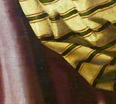 la passion des étoffes (3) (canecrabe) Tags: santadorotea saintedorothée zurbaran atelier séville baroque sainte saintes série musée étoffe