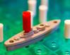 You Hit My Battleship (John Kocijanski) Tags: macromondays macro gamesorgamepieces bokeh canon60mmusmmacrolens battleship battleshipgame red