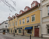 Hamngatan, the main street in Vaxholm; Stockholm archipelago (PriscillaBurcher) Tags: hamngatan vaxholm stockholmarchipelago sweden l1030143