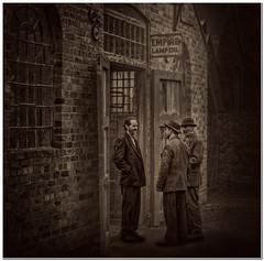 Job seekers (Hugh Stanton) Tags: factory boss doors appicoftheweek