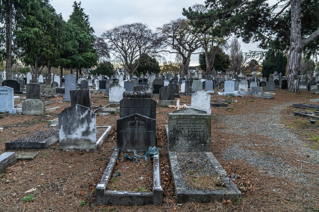 MOUNT JEROME CEMETERY IS AN INTERESTING PLACE TO VISIT [IT CLOSES AT 4PM]-134340