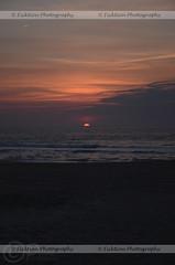 Peeking Over the Horizon (ficktionphotography) Tags: oceancity maryland atlanticocean ocean sea water clouds sunrise sun