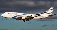 4X-ELA - Boeing 747-458 - LHR (Seán Noel O'Connell) Tags: elalisraelairlines elal 4xela boeing 747458 747 b744 heathrowairport lhr egll 27l tlv llbg ly315 ely315