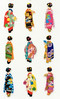 Japanese Women (kawaii_fabric_and_paper) Tags: stickers geisha woman women japan fromjapanwithlove craft japanesestyle etsy