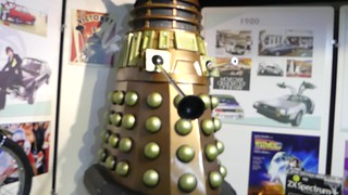 Genuine Dr Who Dalek - Alford Museum - Aberdeenshire Scotland 2017