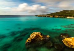 Knit Curacao (photoserge.com) Tags: seascape landscape clouds rocks land