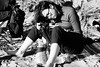 millerton point 4 (Adrienne Johnson SF) Tags: story úna 2017 declan millertonpoint pointreyes beach documentary norcal family kids bw rollieortho25 children 5minutes